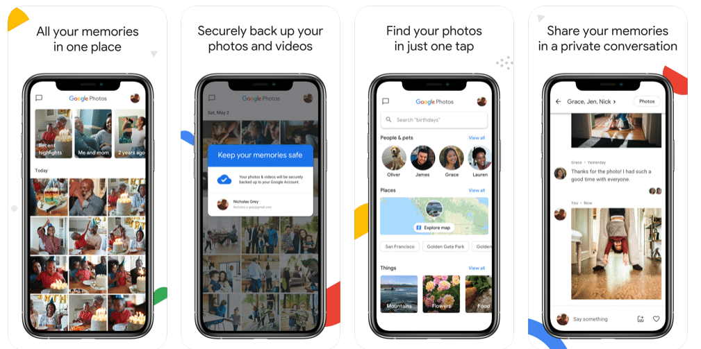 Google Photos - Best Slideshow Apps for iOS and Android