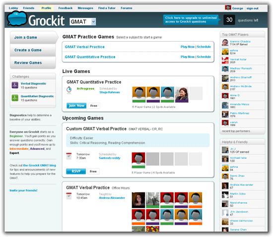 Grockit-social-learning platform