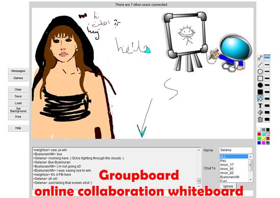 Groupboard - online collaboration whiteboard