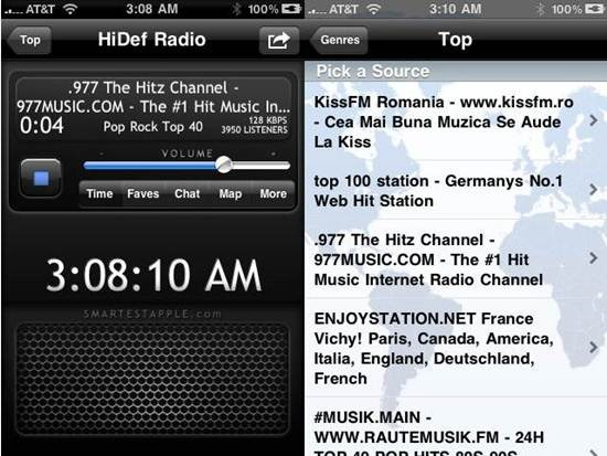HiDef Radio Apps for iPhone