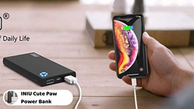 INIU 10000mAh Cute Paw Design Power Bank