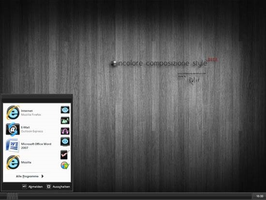 Incolore_Composizione_XP 55 most Beautiful free Window XP Themes and Visual Styles