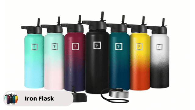 Iron Flask Sports - best thermos flasks for camping
