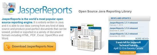 JasperReports - Java reporting engine