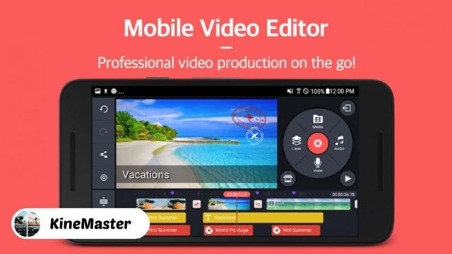 KineMaster - 10 Best Video Editing Apps for iPhone