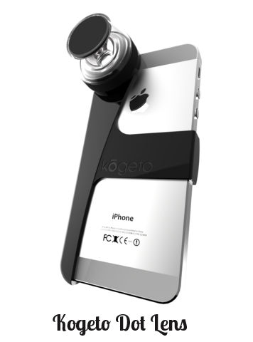 Kogeto Dot - lenses for iphone photography