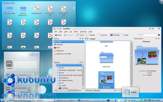 Kubuntu - Open Source Linux OS