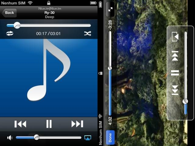 MLPlayer - DLNA Streaming Apps For iPhone