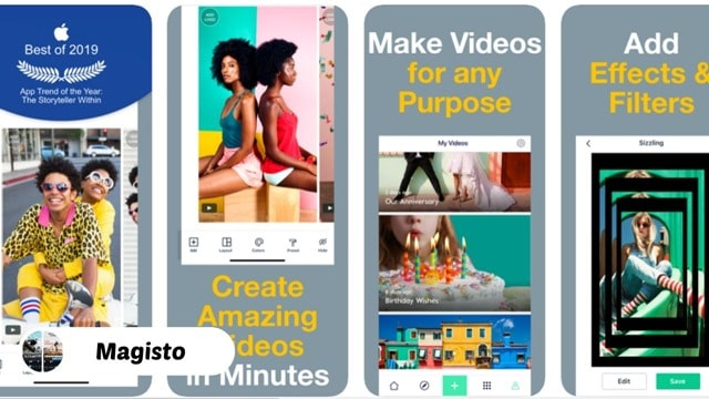 Magisto - 10 Best Video Editing Apps for iPhone