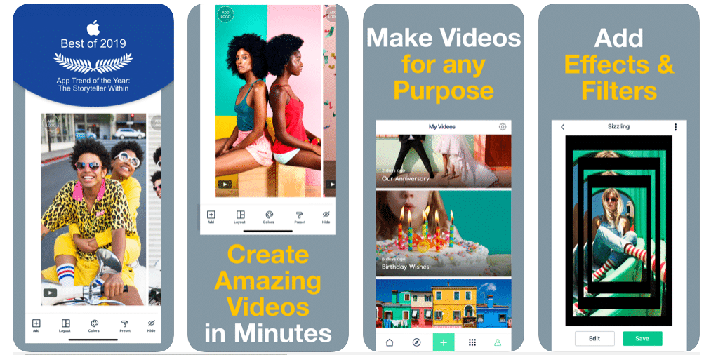 Magisto - Best Slideshow Apps for iOS and Android