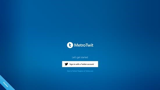 MetroTwit for windows 8