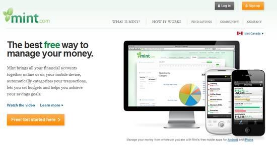 Mint.com - online personal finance software