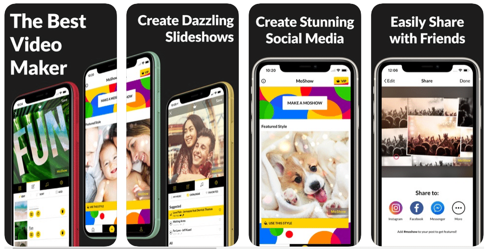 MoShow - Best Slideshow Apps for iOS and Android