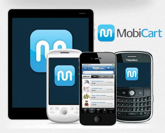 MobiCart - mobile e-commerce app builder