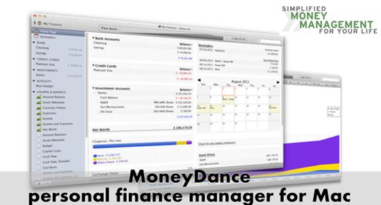 Moneydance personal finance manager