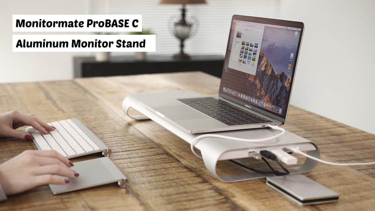 Monitormate ProBASE C - Best MacBook stands
