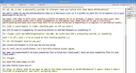 MoonEdit - real-time collaborative (multi-user) text editor