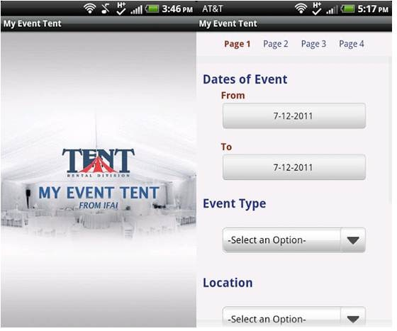 My Event Tent - Event Management Apps