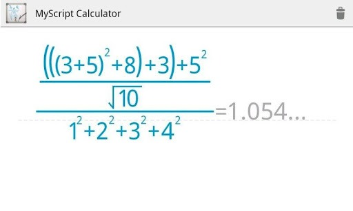 MyScript Calculator (1) Get Handwriting Calculator for android