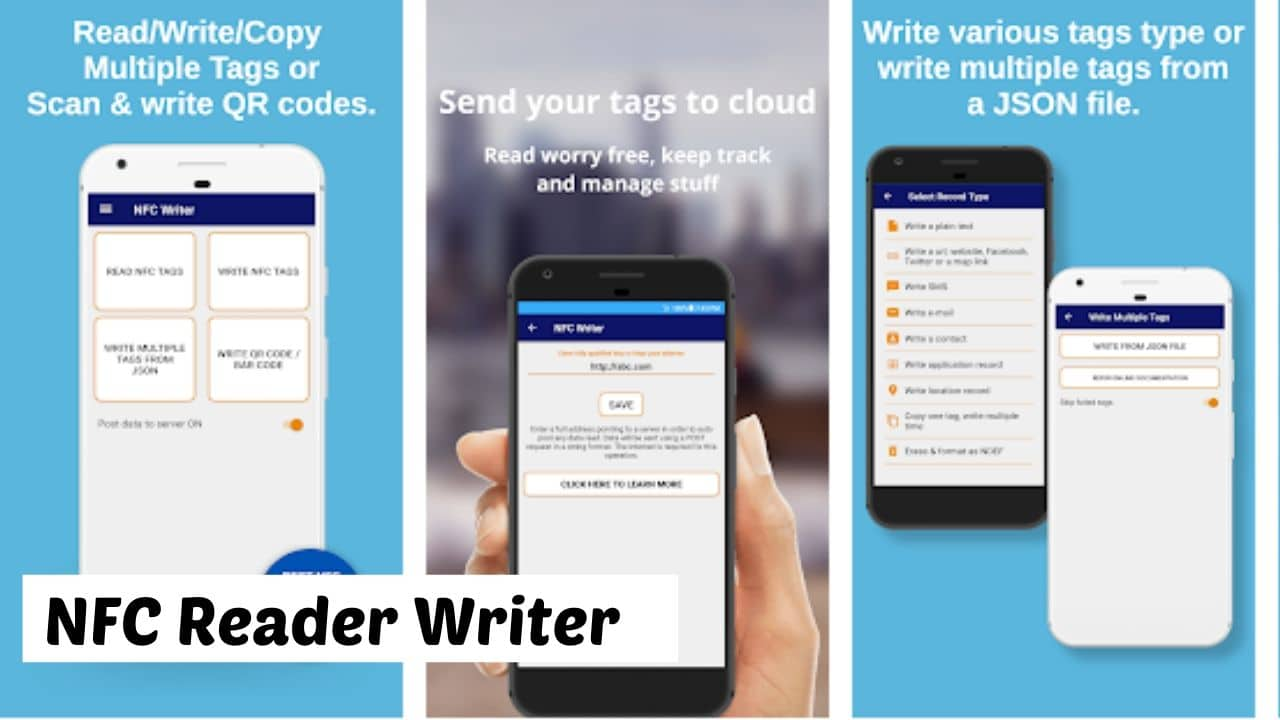 NFC Reader Writer for Android