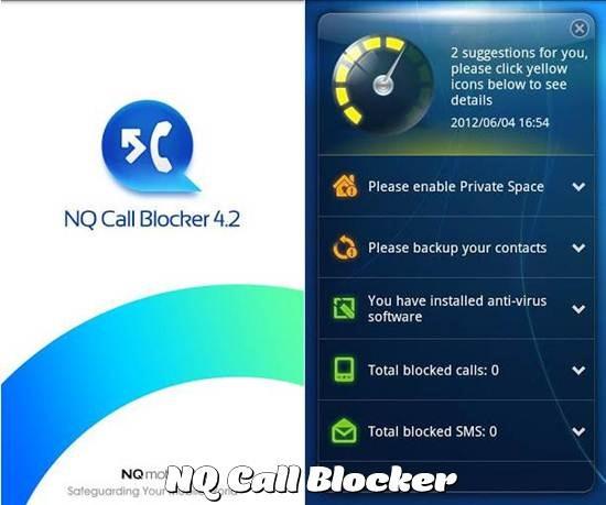 NQ Call Blocker app
