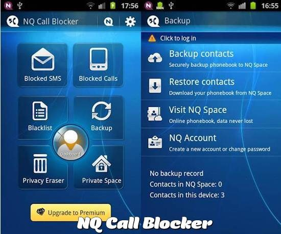 NQ Call Blocker apps