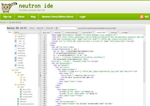 NeptunIDE Cloud Based IDE