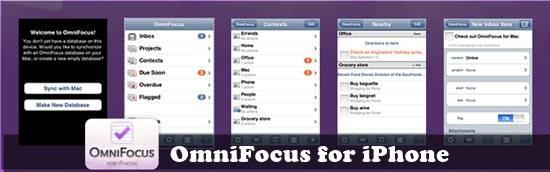 OmniFocus - best to do list for ios