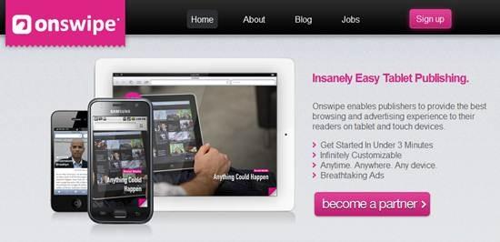 Onswipe Tablet Publishing