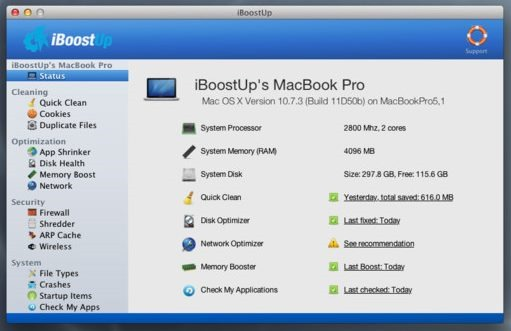 Optimize Your Mac Performance with iBoostUp (1)