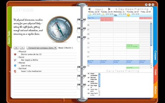 OpusDomini Personal planner for Mac