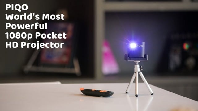 PIQO - World's Most Powerful 1080p Pocket HD Projector