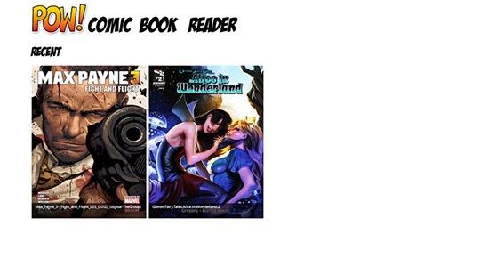 POW! Comic Book Reader Apps