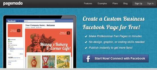 Pagemodo Best Custom Facebook Fan page builder