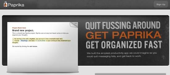Paprika Text Based Productivity