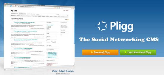 Pligg - Social Networking CMS