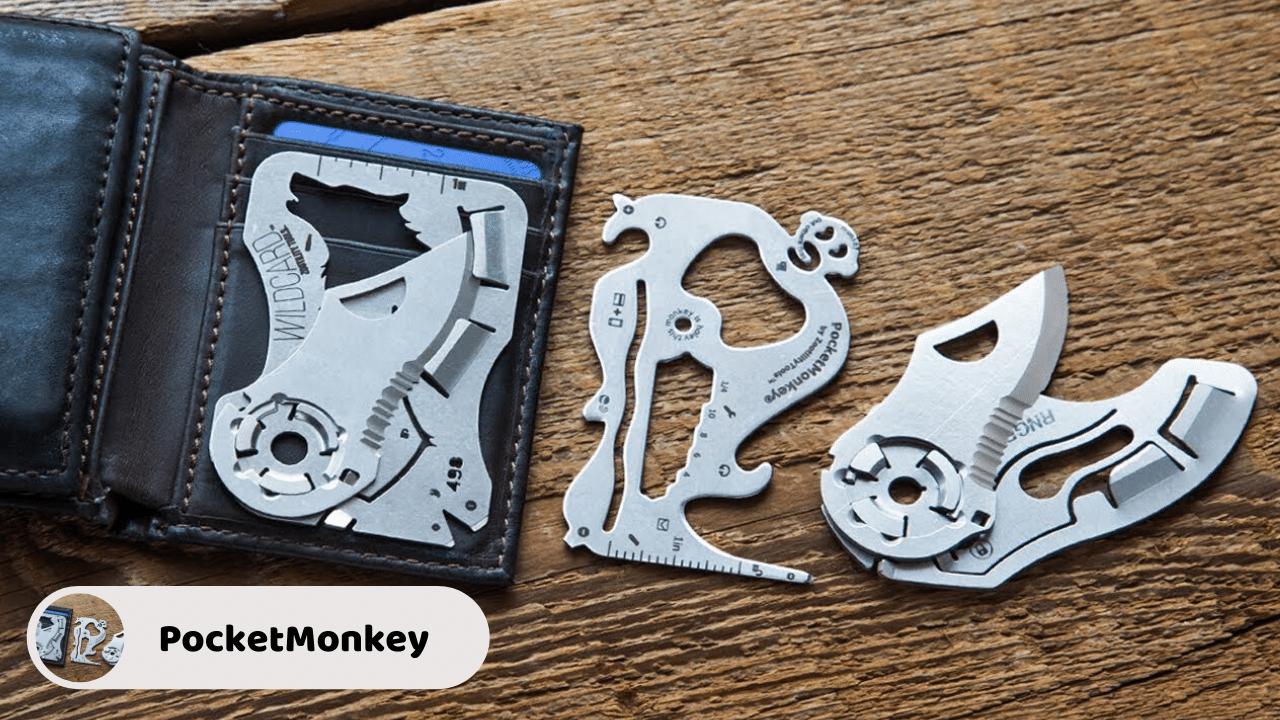 PocketMonkey - Wallet Multi-Tool