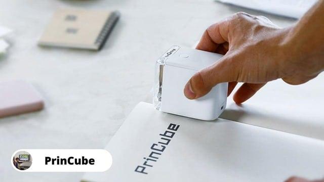 PrinCube – Smallest Portable Mobile Printer