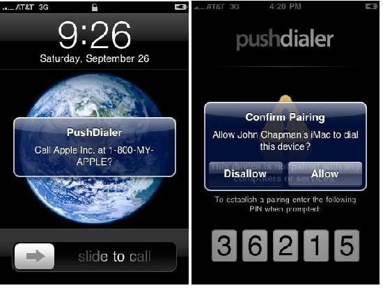 PushDialer Desktop
