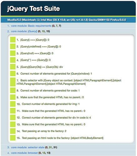 QUnit - JavaScript unit testing framework