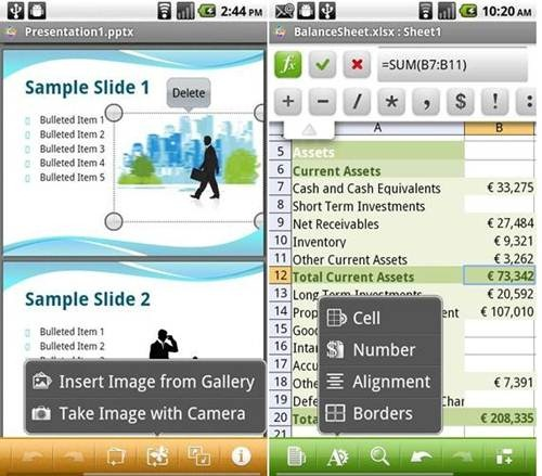 Quickoffice Pro for Android