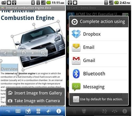 Quickoffice Pro for Android2
