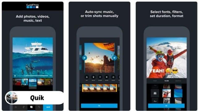 Quik GoPro  - 10 Best Video Editing Apps for iPhone