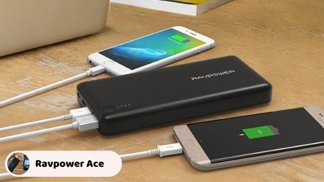 RAVPower Ace 22000 - Ultra Slim Portable Power Bank