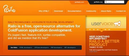 Railo - Open source CFML engine