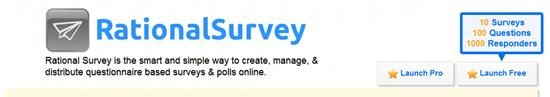 Rational Survey - online survey software and questionnaire