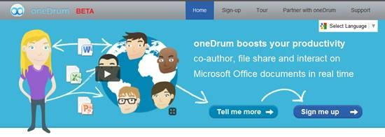 Real time Collaboration for MS Office document - oneDrum