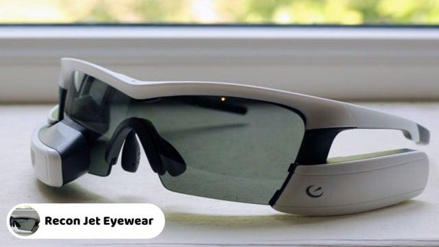 Recon Jet Smart Eyewear - Best AR Smart Glasses