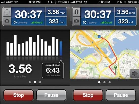 RunKeeper Fitness Apps for iPhone