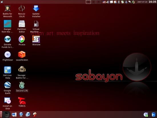 Sabayon - Best Open Source Linux Operating System